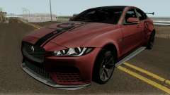 Jaguar XE SV Project 8 2017 pour GTA San Andreas