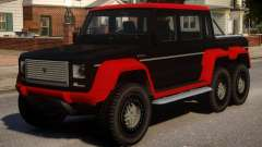 Benefactor Dubsta 6x6 Alternate pour GTA 4