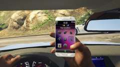 Samsung Galaxy S7 Edge Franklin pour GTA 5