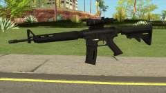 M4AR15 ACOG für GTA San Andreas