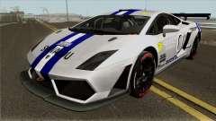 Lamborghini Gallardo Racing Team Solvalou RR-TYP für GTA San Andreas