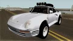 Porsche 959 Rusty Rebel 1987 pour GTA San Andreas