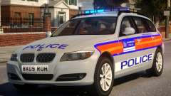 Metropolitan BMW 3 Series ANPR Version pour GTA 4
