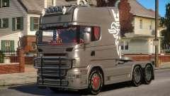 Scania R580 Longline Custom PJ1 für GTA 4