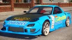 Mazda RX-7 Greddy für GTA 4