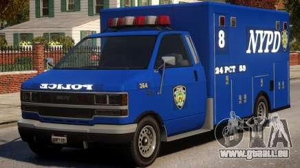 Police NYPD Van für GTA 4