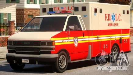Ambulance FDLC für GTA 4