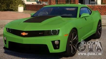 Chevrolet Camaro ZL1 V1.3 pour GTA 4