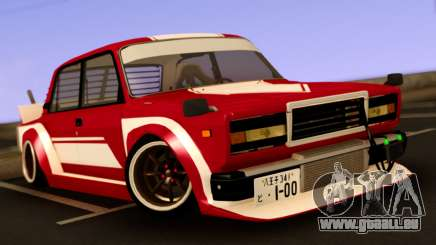 VAZ 2107 Bosozoku Style pour GTA San Andreas