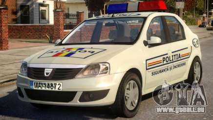 Dacia Logan Police pour GTA 4