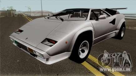 Lamborghini Countach LP5000QV für GTA San Andreas