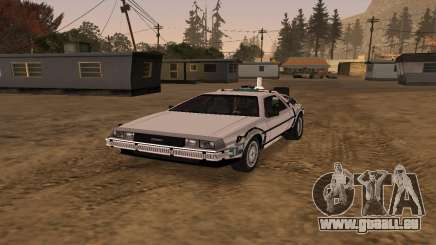 Delorean DMC-12 Back To The Future 2 für GTA San Andreas