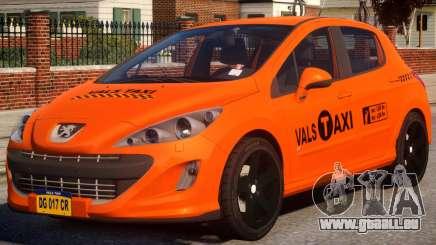 Peugeot Taxi VALS für GTA 4