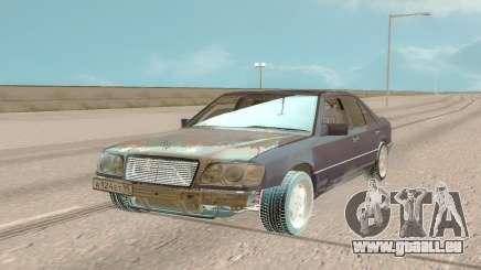 Mercedes-Benz E500 W124 1994 Damaged pour GTA San Andreas
