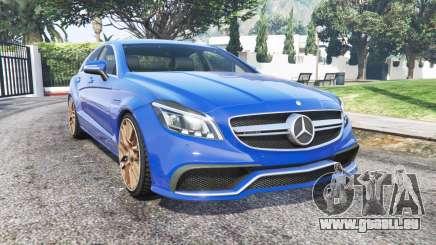 Mercedes-Benz CLS 63 AMG (С218) 2014 [remplacer] pour GTA 5