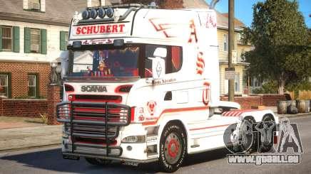 Scania R580 Longline Custom PJ16 pour GTA 4