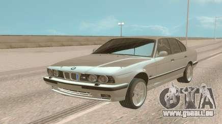 BMW M5 E34 Stock pour GTA San Andreas