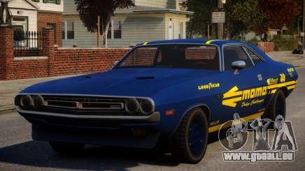 Dodge Challenger 1971 PJ10 für GTA 4