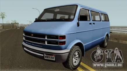 Bravado Youga GTA V für GTA San Andreas