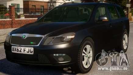 Skoda Octavia Unmarked für GTA 4