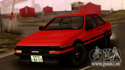 Toyota Corolla AE86 Sprinter Trueno pour GTA San Andreas