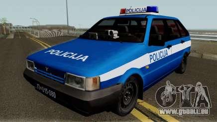 Zastava Yugo Florida 1.3 Policija für GTA San Andreas