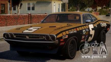 Dodge Challenger 1971 PJ2 pour GTA 4