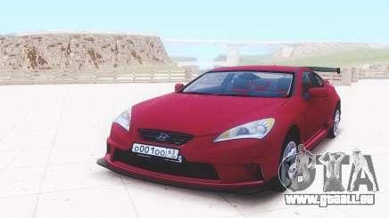 Hyundai Genesis für GTA San Andreas