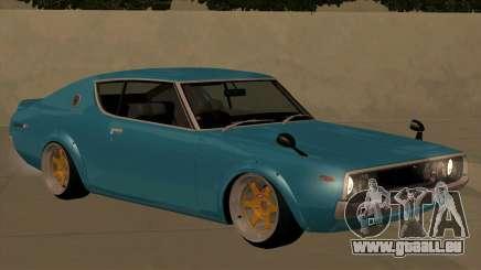 Nissan Skyline GTR 1973 KPGC110 JerryCustoms pour GTA San Andreas
