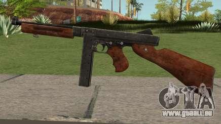 Thompson M1A1 SMG V2 pour GTA San Andreas