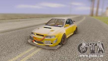Subaru Impreza 22B Wild kit Tuning für GTA San Andreas