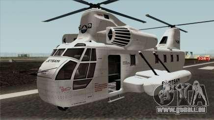 Cargobob Jetsam GTA V für GTA San Andreas