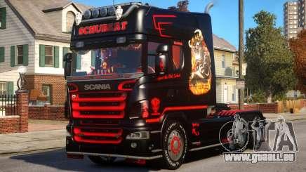 Scania R580 Longline Custom PJ13 pour GTA 4