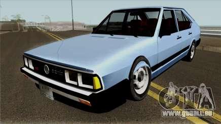 Volkswagen Passat Pointer LSE Iraque 1984 pour GTA San Andreas
