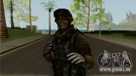 Multicam Ranger from Call of Duty: MW2 pour GTA San Andreas