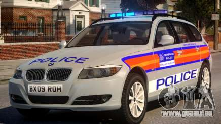 Metropolitan BMW 3 Series ANPR Version pour GTA 4