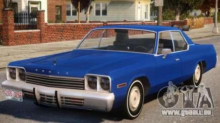 1974 Dodge Monaco V1.2 pour GTA 4