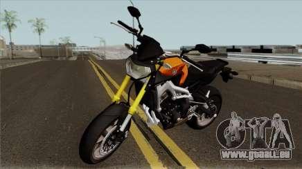 Yamaha MT 09 für GTA San Andreas