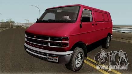 Bravado Youga GTA V IVF für GTA San Andreas