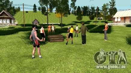 La fête au village (GTA Pénale de la Russie) pour GTA San Andreas