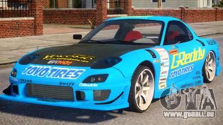 Mazda RX-7 Greddy pour GTA 4