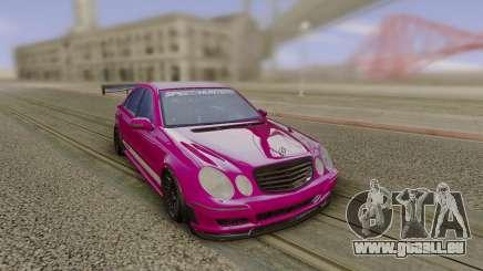 Mercedes-Benz E55 AMG Speedhunters pour GTA San Andreas