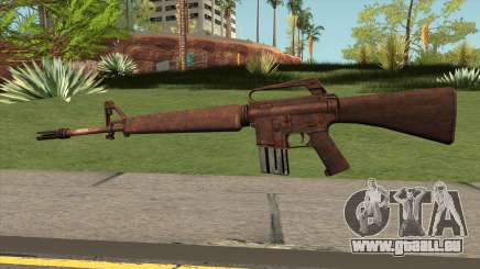 M16 Skullpiercer from Call Of Duty Z pour GTA San Andreas