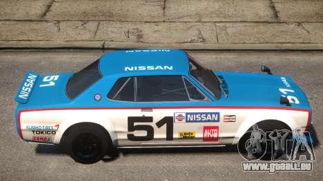 Nissan Skyline 2000GT-R PJ für GTA 4