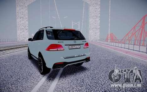 Mercedes-Benz GLE 63S für GTA San Andreas rechten Ansicht