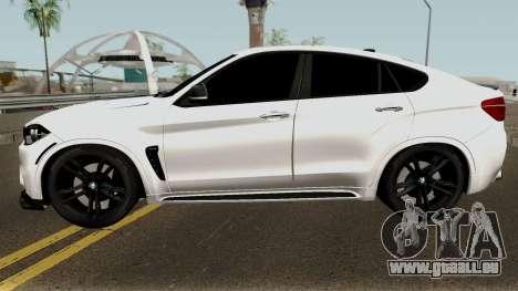 BMW X6M pour GTA San Andreas