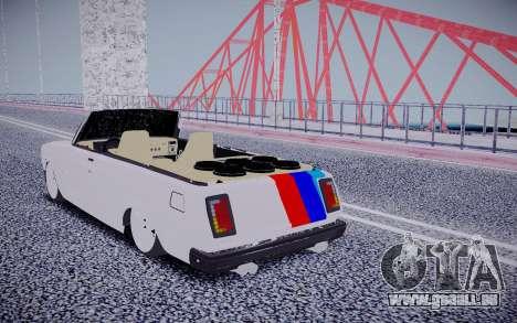VAZ 2104 Cabrio für GTA San Andreas zurück linke Ansicht