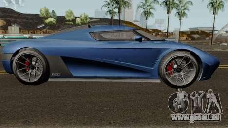 Overflod Entity XXR GTA V pour GTA San Andreas vue arrière