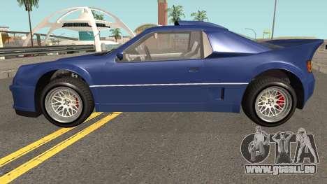 Vapid GB200 GTA V pour GTA San Andreas