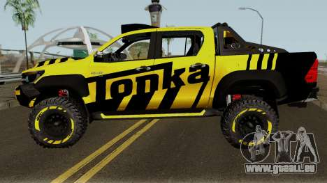 Toyota Hilux Tonka Concept 2017 pour GTA San Andreas